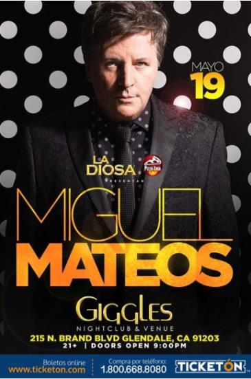 MIGUEL MATEOS: Main Image