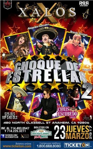 CHOQUE DE ESTRELLAS 2: Main Image