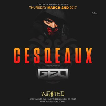 CESQEAUX Live @ Wasted Huntington Beach on Thursday March 2n-img