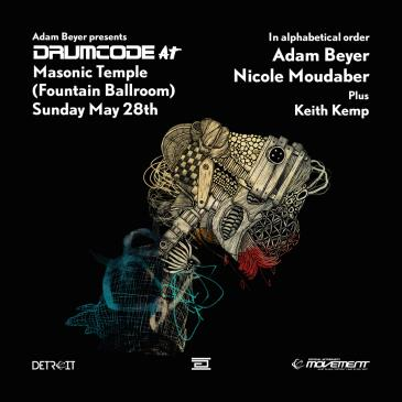 Adam Beyer presents: Drumcode - Official Movement Detroit Af-img
