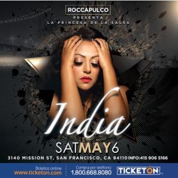 LA INDIA EN SAN FRANCISCO: Main Image