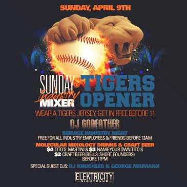 SUNDAY INDUSTRY MIXER || TIGERS OPENER-img