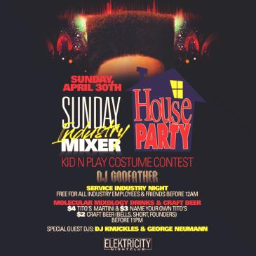 SUNDAY INDUSTRY MIXER || HOUSE PARTY: Main Image