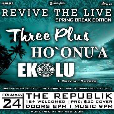 Revive the Live - Spring Break-img