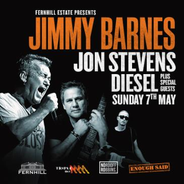 JIMMY BARNES presented by Fernhill Estate: Main Image