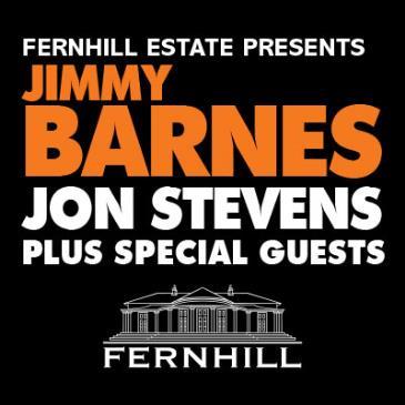 JIMMY BARNES presented by Fernhill Estate