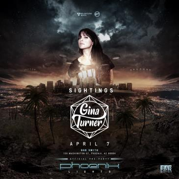 Gina Turner - Official Phoenix Lights Pre-party: Main Image