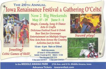 Iowa Renaissance Festival: Main Image
