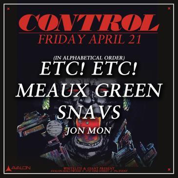 ETC! ETC!, Meaux Green, Snavs: Main Image