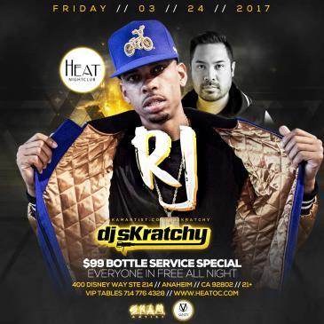 HEAT Fridays W/ RJ & DJ Skratchy-img