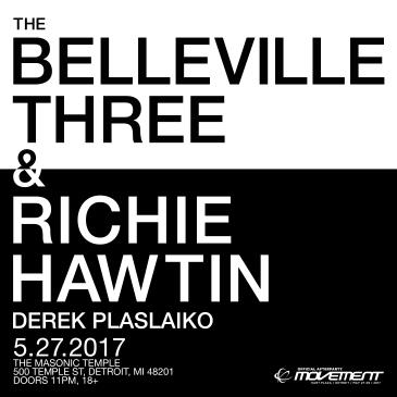 The Belleville Three & Richie Hawtin: Official Afterparty-img