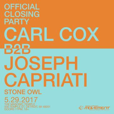 Carl Cox B2B Joseph Capriati: The Official Closing Party: Main Image