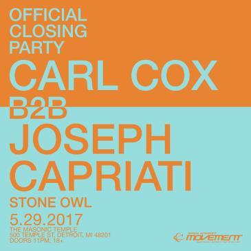 Carl Cox B2B Joseph Capriati: The Official Closing Party-img