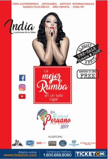 FESTIVAL PERUANO - PICO RIVERA: Main Image