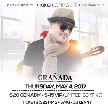 Live in Concert Kiko Rodriguez-img