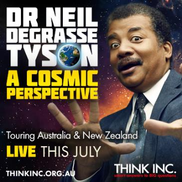 Neil deGrasse Tyson: A Cosmic Perspective: Main Image
