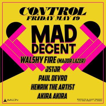 Mad Decent: Walshy Fire, JSTJR, Paul Devro, HenrikTheArtist: Main Image