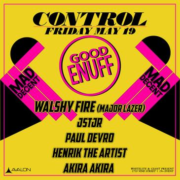 Mad Decent: Walshy Fire, JSTJR, Paul Devro, HenrikTheArtist-img