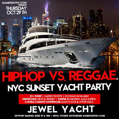 Thursday Halloween Sunset Yacht Party Cruise at Skyport Marina Jewel Yacht Thursday Oct 29th, 2020 Tickets Party | GametightNY.com