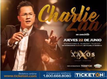 CHARLIE ZAA EN XALOS: Main Image