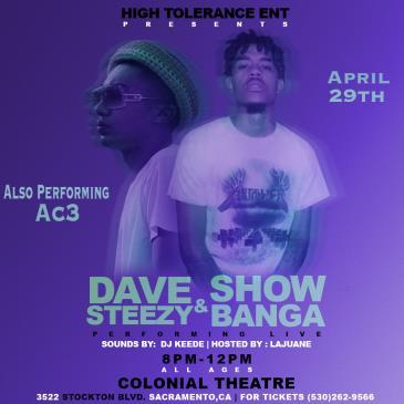 Show Banga + Dave Steezy Live-img