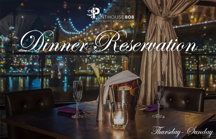 Dinner Ravel Penthouse 808 | GametightNY.com