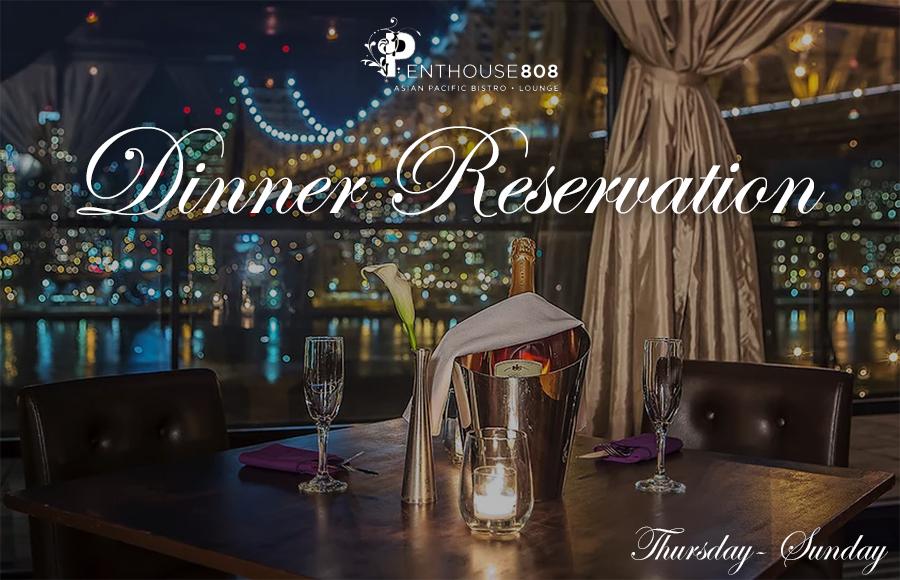 Dinner Ravel Penthouse 808 | GametightNY.com