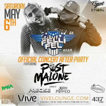 DJ Felli Fel's & Post Malone Official Concert After Party: Main Image