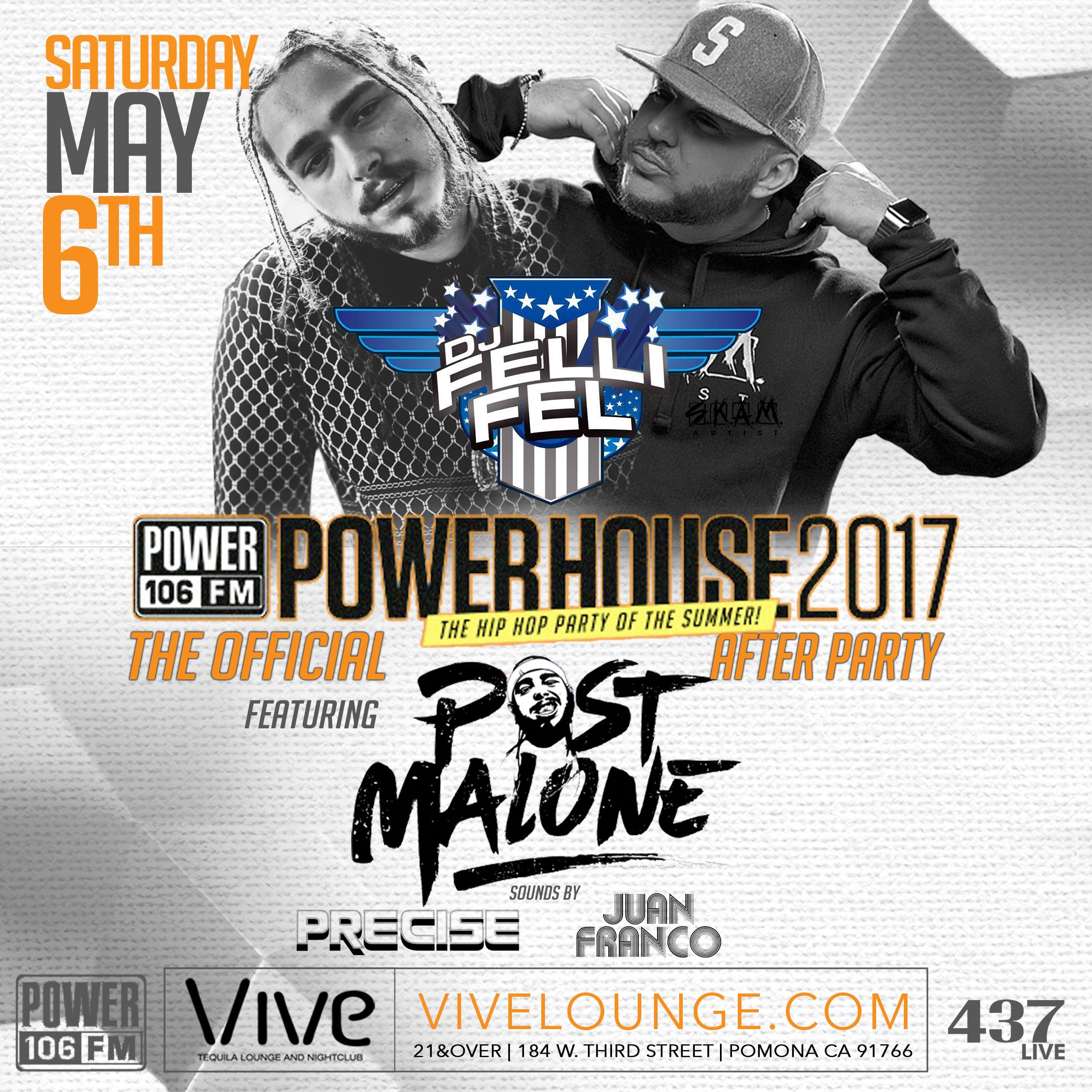 Official Power House After Party with Post Malone & MORE!