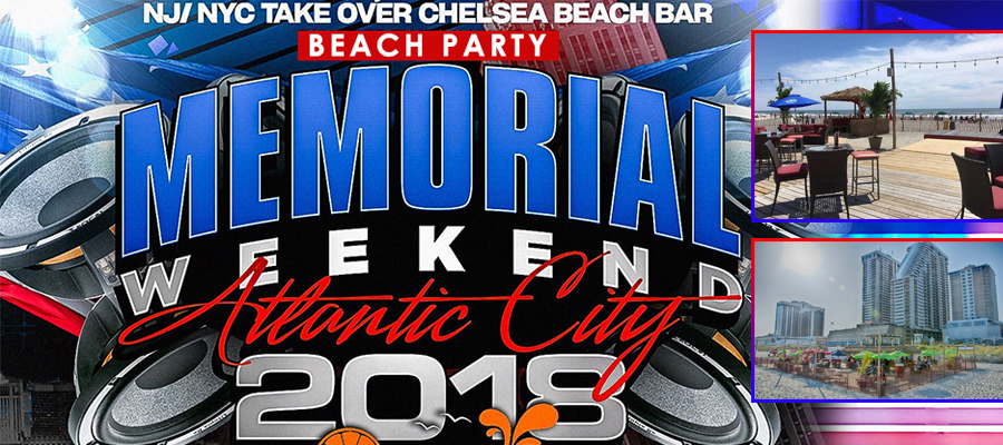 Chelsea Beach Bar Memorial Day Weekend party 2018 Tickets Party | GametightNY.com