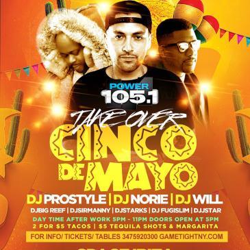 Power 105.1 Cinco De Mayo with Dj Prostyle at Space Ibiza NY-img