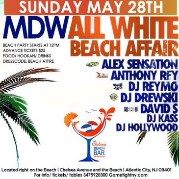 Chelsea Beach Bar All White Memorial Day Weekend party 2017: Main Image
