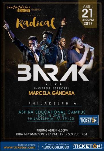 BARAK - GENERACIÓN RADICAL LIVE & MARCELA GÁNDARA: Main Image