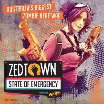 Melbourne - ZEDTOWN: State of Emergency Game 1: Main Image