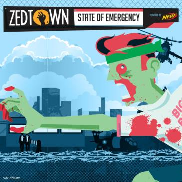 Sydney - ZEDTOWN: State of Emergency Game 1: Main Image