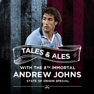 TALES & ALES - ANDREW JOHNS (SOLD OUT): Main Image