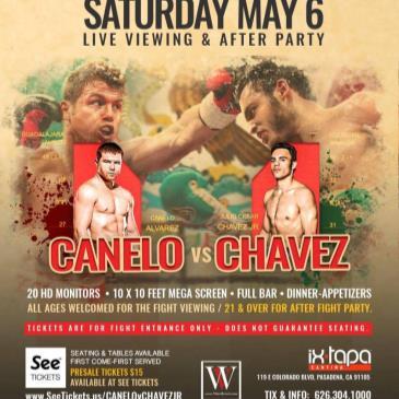 CANELO v. CHAVEZ JR. - Live Viewing Party at Ixtapa Pasadena-img