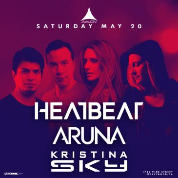 Heatbeat, Aruna, Kristina Sky: Main Image