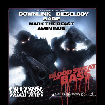 Blood, Sweat And Bass Tour: Downlink, Dieselboy, Bare: Main Image