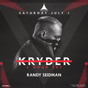 Kryder - 3 Hour Set, Randy Seidman: Main Image
