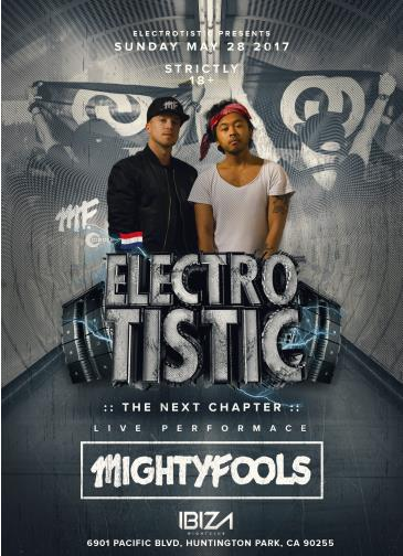 MIGHTYFOOLS LIVE@ELECTROTISTIC: Main Image