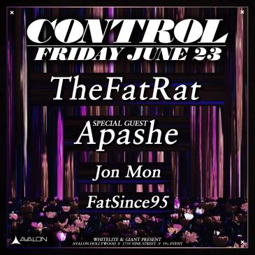 TheFatRat, Special Guest: Apashe, Jon Mon: Main Image