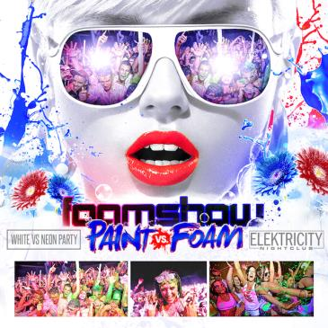PAINT VS FOAM || WHITE PARTY-img