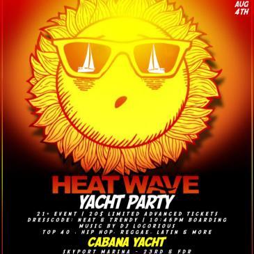 Summer Heatwave Yacht Party at Skyport Marina Cabana Yacht-img