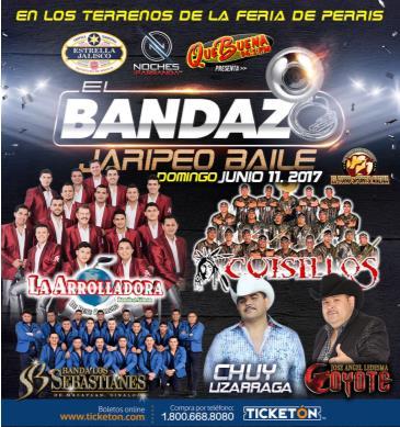 Cancelled - EL BANDAZO JARIPEO BAILE 2017: Main Image