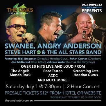 Steve Hart & The Allstars Band: Main Image