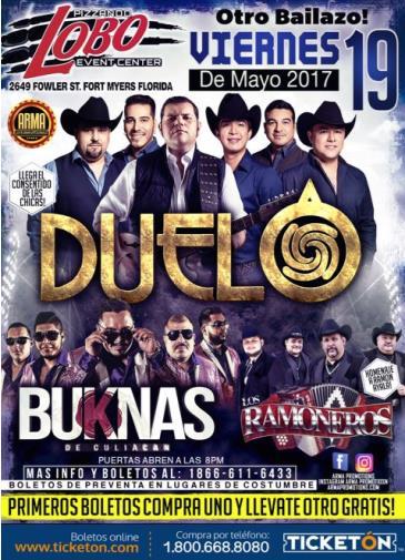 DUELO, BUKNAS & LOS RAMONEROS: Main Image