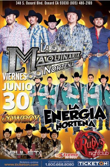 LA MAQUINARIA NORTEÑA Y ENERGIA NORTEÑA: Main Image