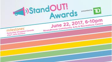 StandOUT Awards - presented by TD: Main Image