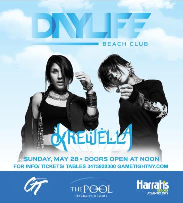 Daylife Beach Club Memorial Day Weekend Krewella live 2017: Main Image